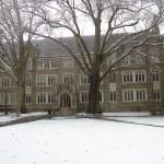 Duke in the Snow 1
